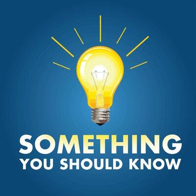 Something You Should Know Podcast Logo